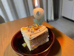 9歳のお誕生日おめでとう🎂